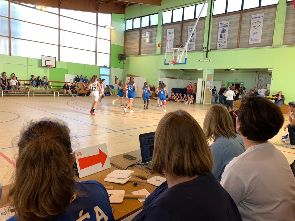 ... et pratique à Cavalin sur les matchs de nos jeunes.